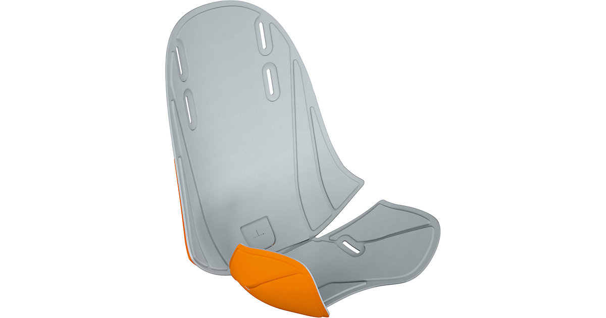 Wendebezug RideAlong Mini, hellgrau/orange