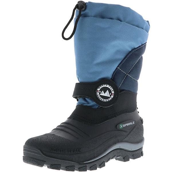 half off 0b5bc 0b1e2 SPIRALE SPIRALE Kinder Jungen Winterstiefel Snowboots blau Stiefel, SPIRALE