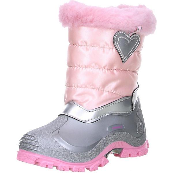 Outlet zu verkaufen Shop für Beamte weltweit verkauft SPIRALE Spirale Kinder Mädchen Winterstiefel Snowboots Herz rosa Stiefel,  SPIRALE