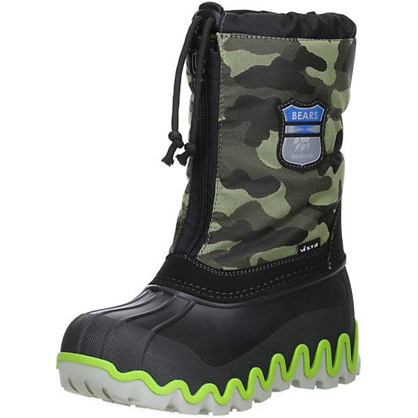 finest selection 51d7a 48632 Vista Vista Canada POLAR Kinder Jungen Mädchen Winterstiefel Snowboots  camouflage Stiefel, Vista
