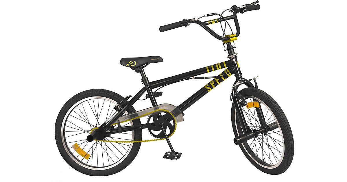 Image of Fahrrad BMX 20 Zoll Free Style schwarz/gelb