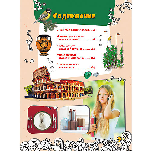 Большая энциклопедия знаний для девочек от Издательство АСТ