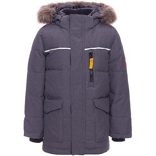 Утепленная куртка Name it - темно-серый от name it