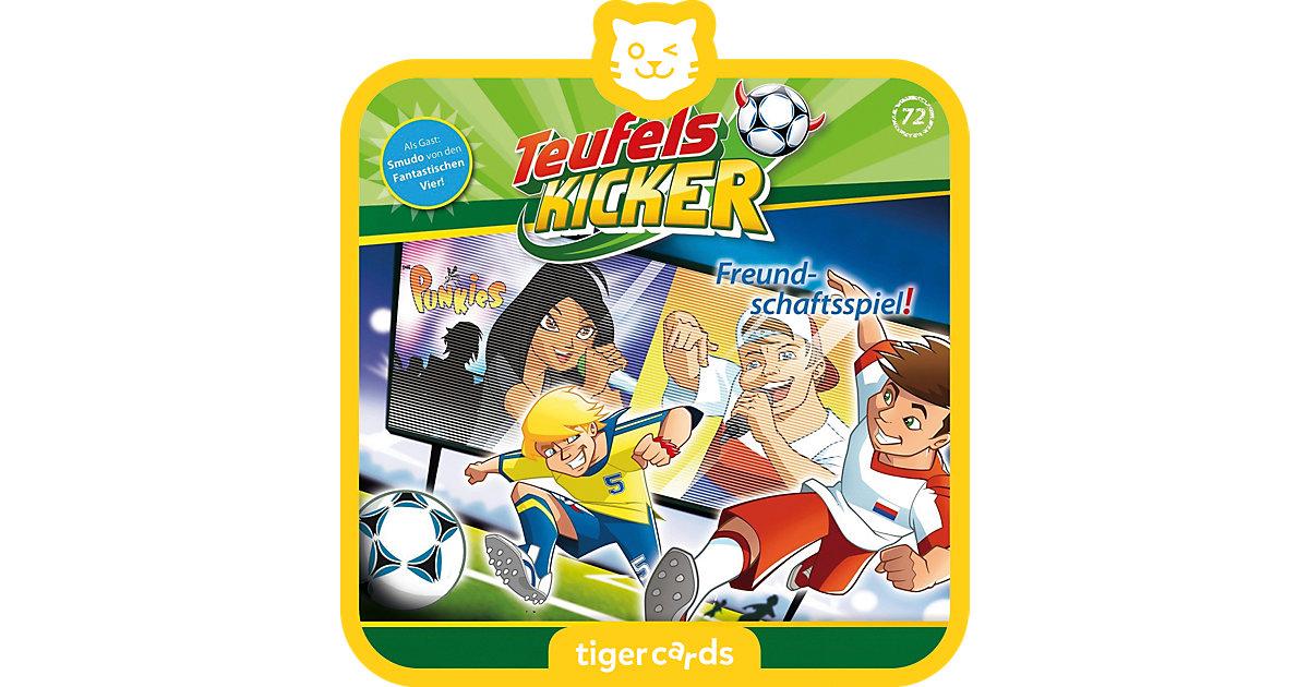 tigercard - Teufelskicker - Freundschaftsspiel Hörbuch
