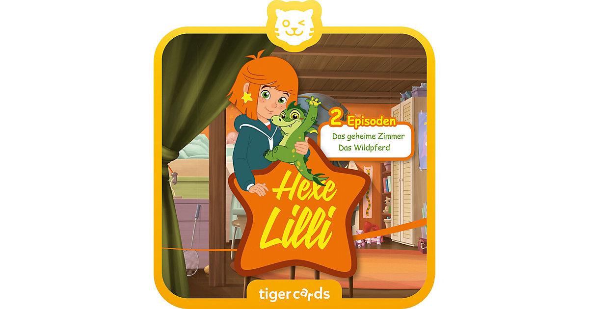 tigercard - Hexe Lilli: Das geheime Zimmer & Das Wildpferd Hörbuch