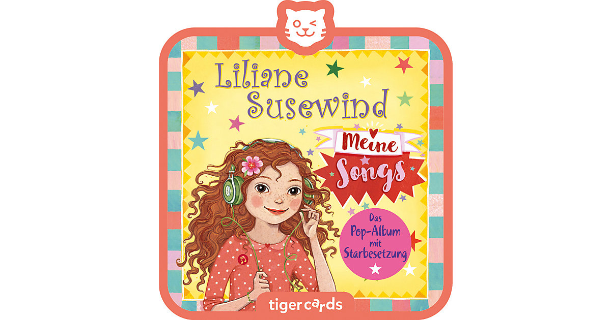 tigercard - Liliane Susewind - Meine Songs Hörbuch