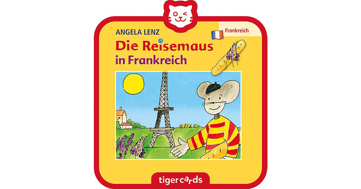 tigercard - Die Reisemaus in Frankreich Hörbuch