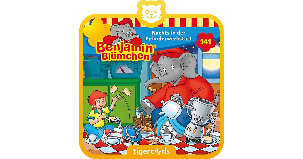 tigercard - Benjamin Blümchen - Nachts in der Erfinderwerkstatt (Folge 141) Hörbuch