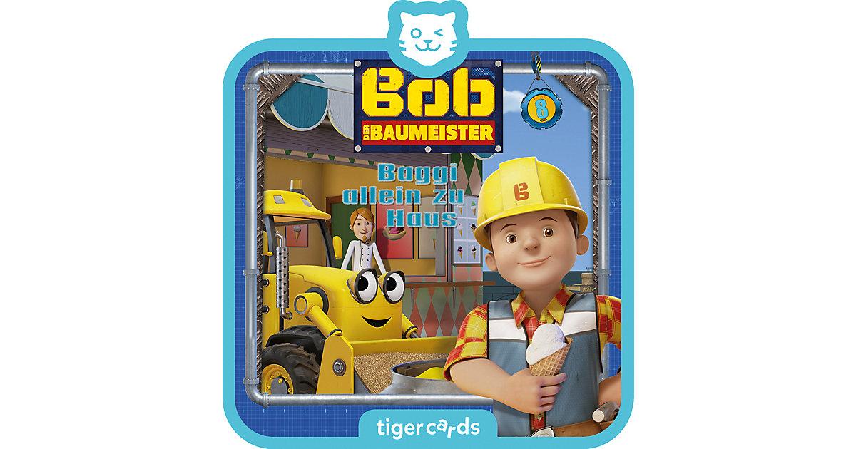 tigercard - Bob der Baumeister - Baggi allein zu Haus Hörbuch