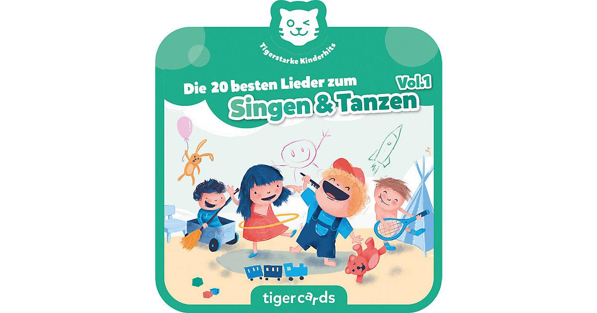 tigercard - Die 20 besten Lieder zum Singen & Tanzen Hörbuch