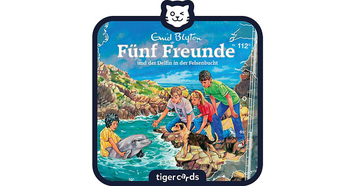 tigercard - Fünf Freunde - und der Delfin in der Felsenbucht Hörbuch