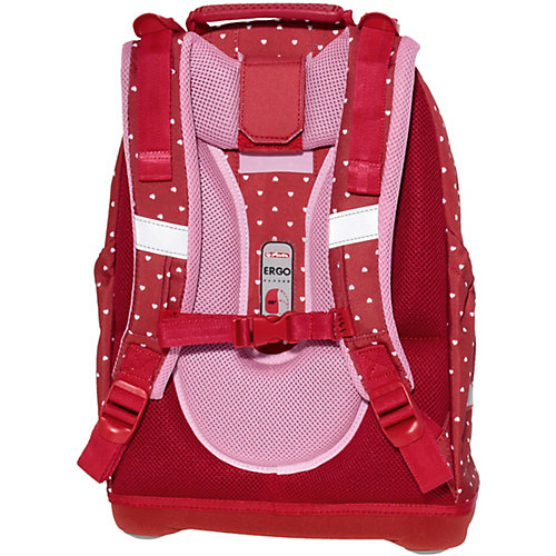 Рюкзак школьный Herlitz Bliss Horses, без наполнения, красный - красный от herlitz