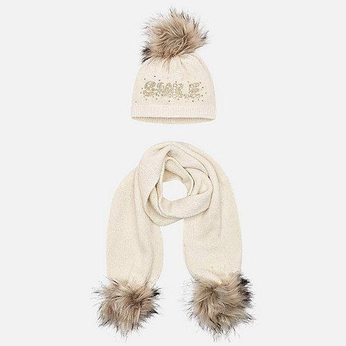 Комплект: шапка и шарф Mayoral - mehrfarbig от Mayoral