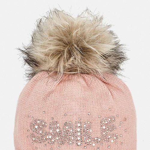 Комплект: шапка и шарф Mayoral - светло-розовый от Mayoral
