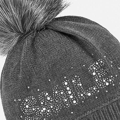 Комплект: шапка и шарф Mayoral - темно-серый от Mayoral
