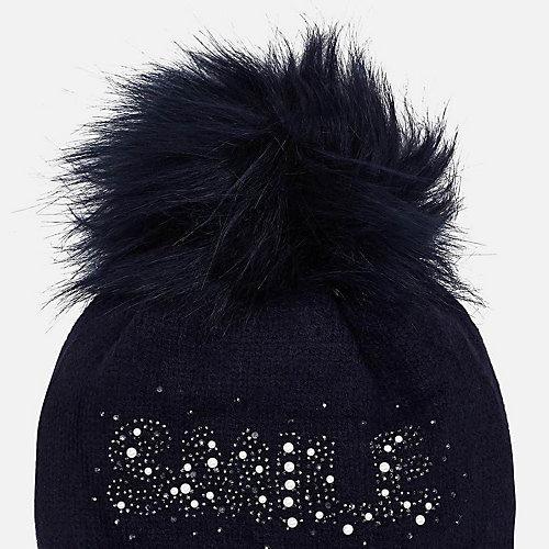 Комплект: шапка и шарф Mayoral - темно-синий от Mayoral