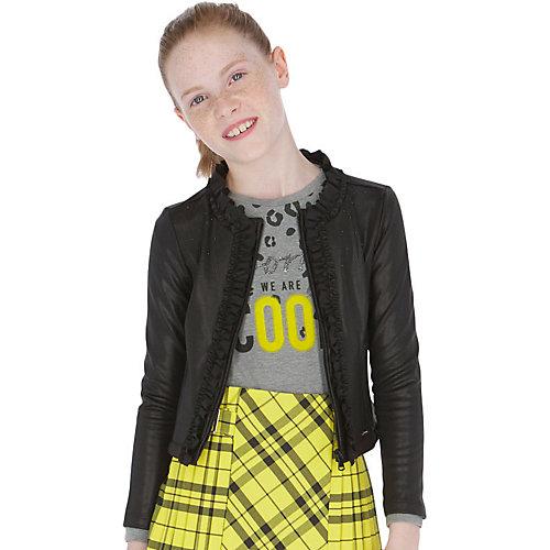 Кожаная куртка Mayoral - черный от Mayoral