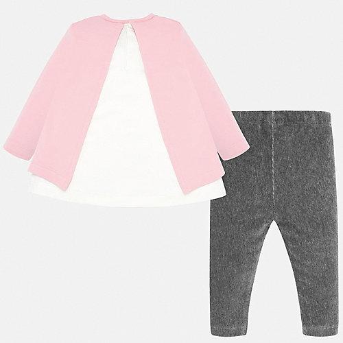 Комплект Mayoral: лонгслив и леггинсы - розовый от Mayoral