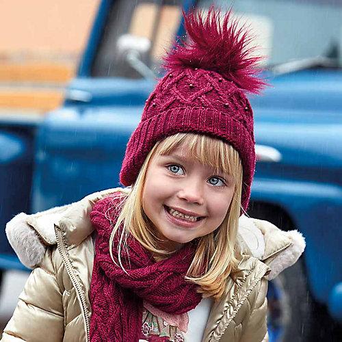 Комплект: шапка и шарф Mayoral - красный от Mayoral