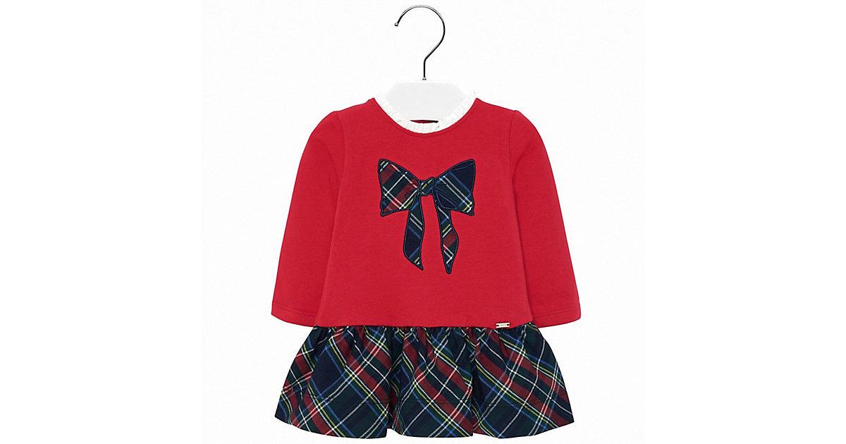 Baby Jerseykleid rot Gr. 80 Mädchen Baby