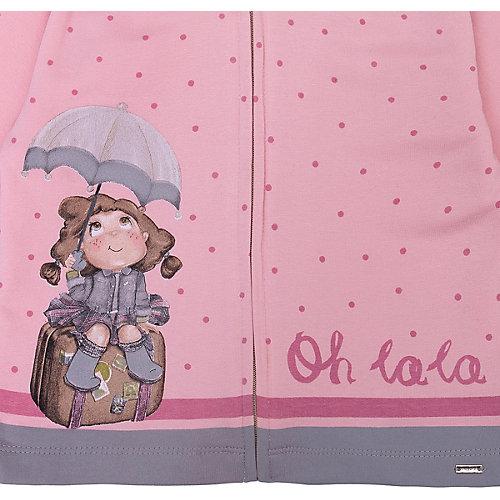 Комплект Mayoral: толстовка и брюки 2 шт - блекло-розовый от Mayoral