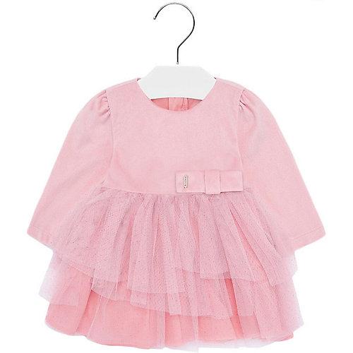 Нарядное платье Mayoral - блекло-розовый от Mayoral