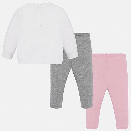 Комплект Mayoral: свитшот и леггинсы 2 шт - блекло-розовый от Mayoral