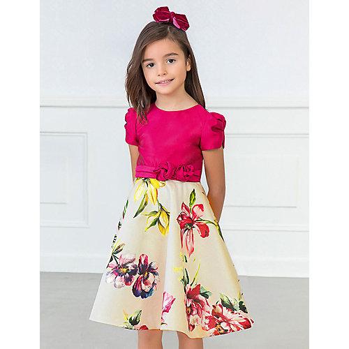 Нарядное платье Abel & Lula - неоновый розовый от Abel&Lula