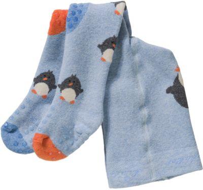 maximo Baby-Jungen Pinguin Strumpfhose
