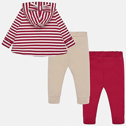 Комплект Mayoral: толстовка и брюки 2 шт - красный от Mayoral