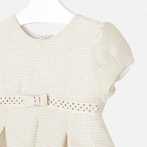 Нарядное платье Mayoral - грязно-белый от Mayoral