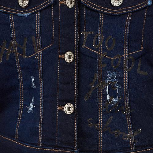 Джинсовая куртка Mayoral - темно-серый от Mayoral