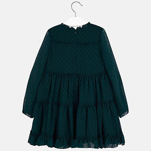 Платье Mayoral - темно-зеленый от Mayoral