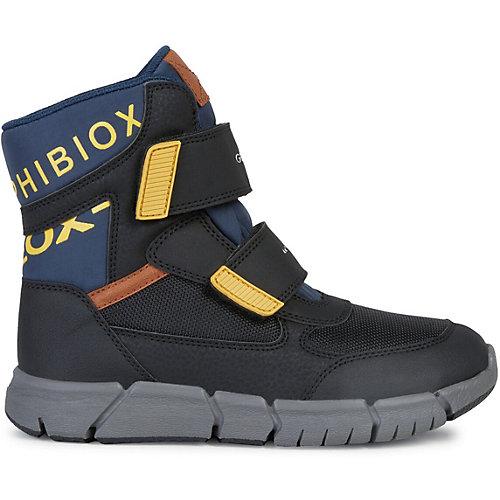 Ботинки Geox - schwarz/petrol от GEOX