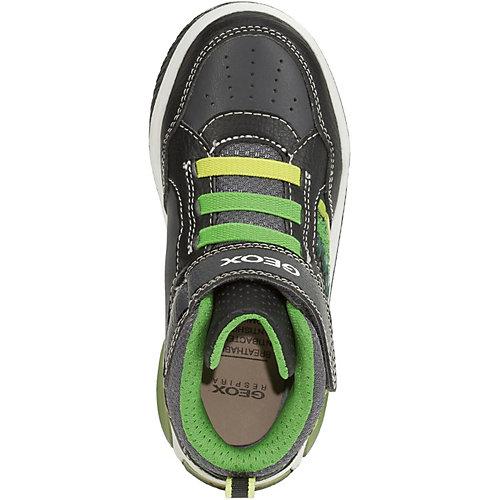 Ботинки Geox - schwarz/grün от GEOX