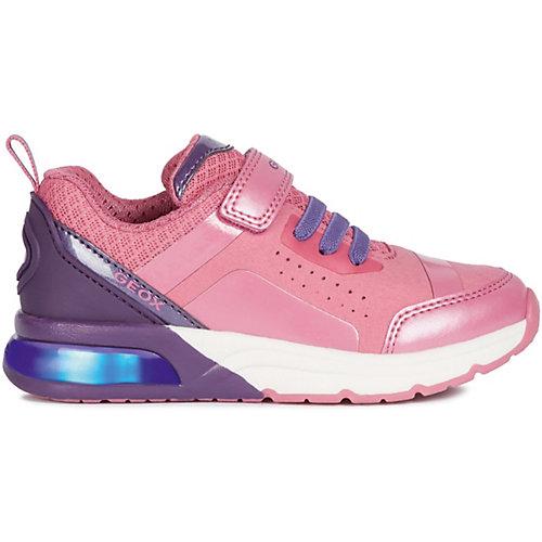 Кроссовки Geox - фиолетово-розовый от GEOX