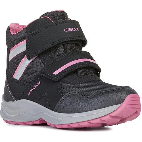 Ботинки Geox - черный/розовый от GEOX