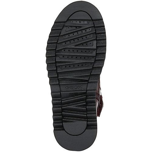 Утеплённые ботинки Geox - бордовый от GEOX