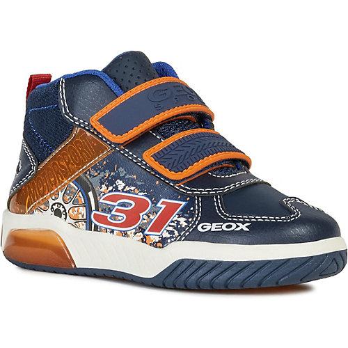Ботинки Geox - синий/оранжевый от GEOX