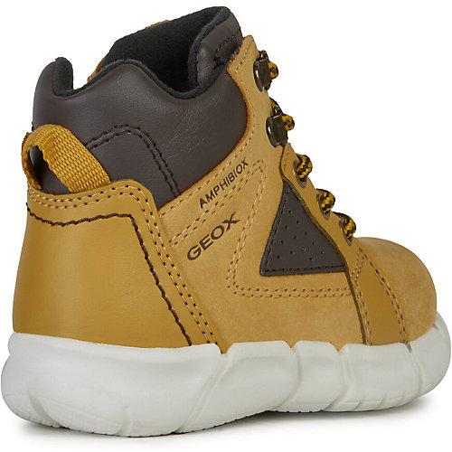 Утеплённые ботинки Geox - желтый от GEOX