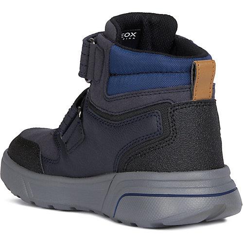 Утеплённые ботинки Geox - schwarz/petrol от GEOX