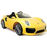 Электромобиль  Injusa Porsche 911 Turbo S, 6V, желтый