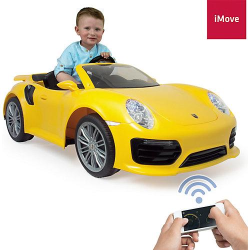 Электромобиль  Injusa Porsche 911 Turbo S, 6V, желтый от INJUSA