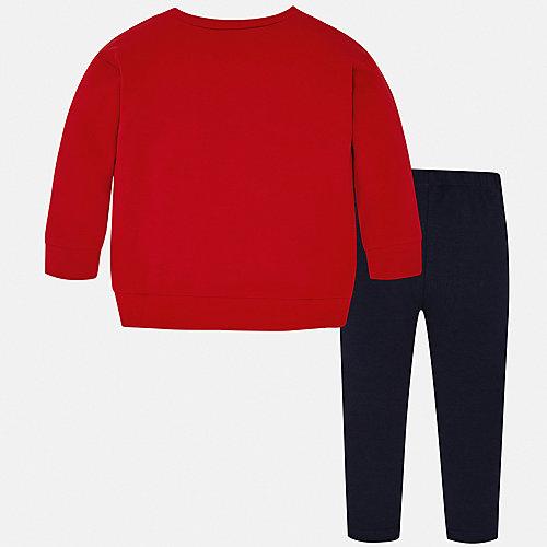 Комплект Mayoral: свитшот и леггинсы - красный от Mayoral