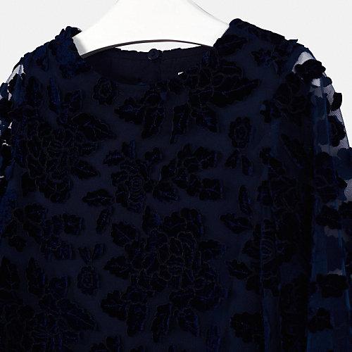 Нарядное платье Mayoral - темно-синий от Mayoral
