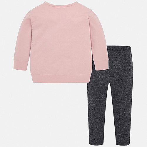 Комплект Mayoral: свитшот и леггинсы - светло-розовый от Mayoral
