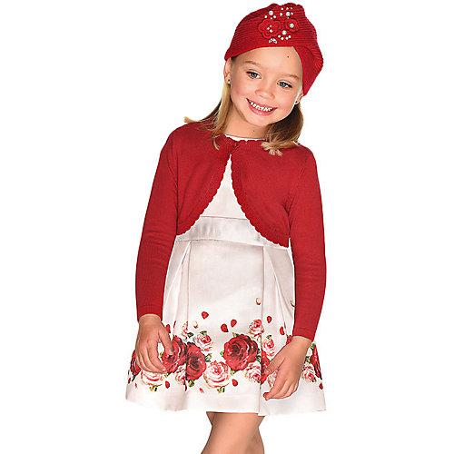 Нарядное платье Mayoral - бежевый от Mayoral