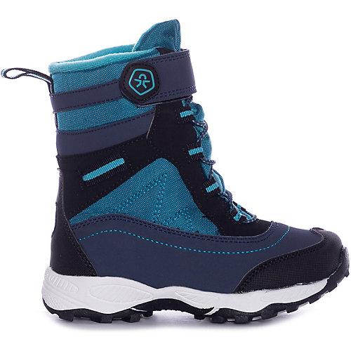 Утеплённые ботинки Color Kids Sallut - синий от COLOR KIDS