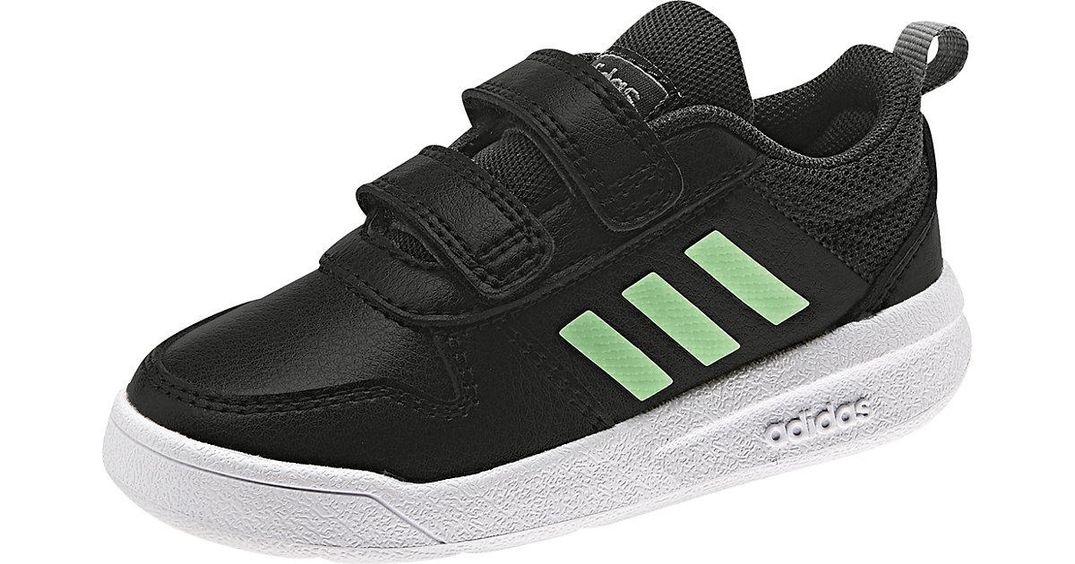Baby Sneakers Low TENSAUR  schwarz/grün Gr. 19 Jungen Baby