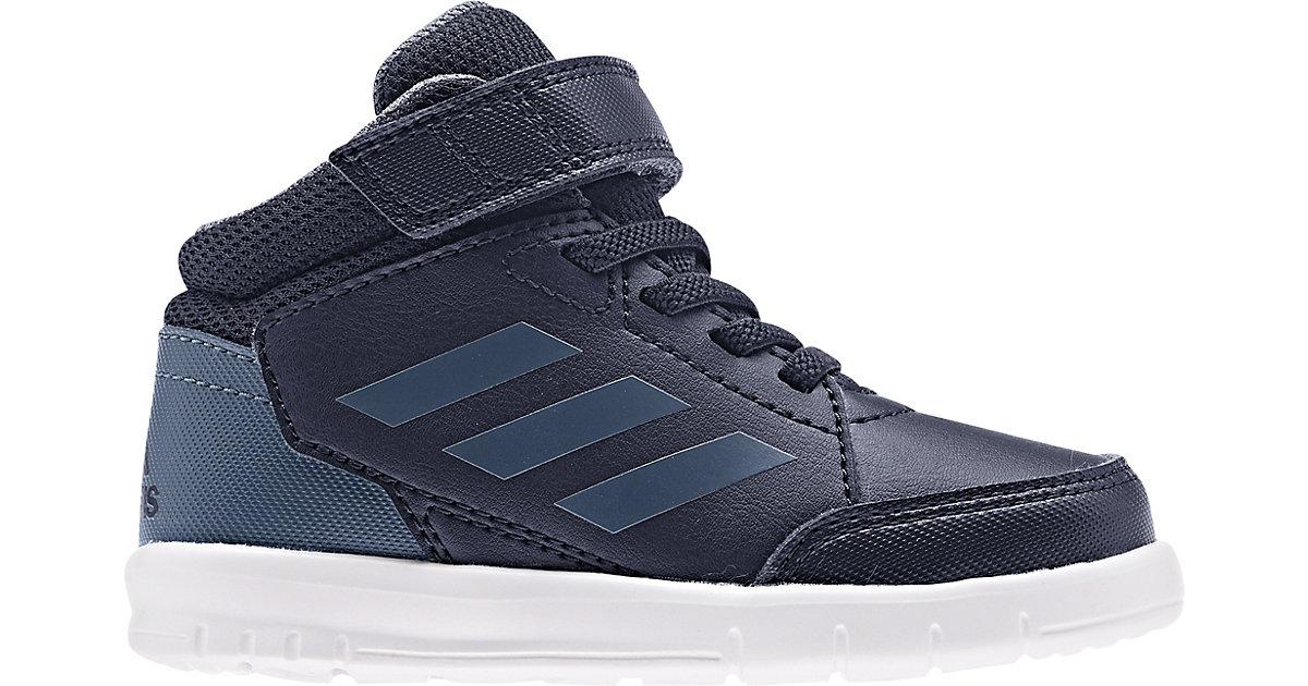 Baby Sneakers High ALTASPORT MID  schwarz/petrol Gr. 19 Jungen Baby
